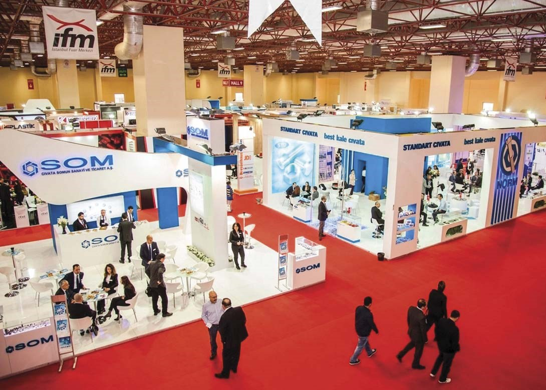 Exhibition Stand Organisers : Stand booking in full flow for fastener fair turkey fastener