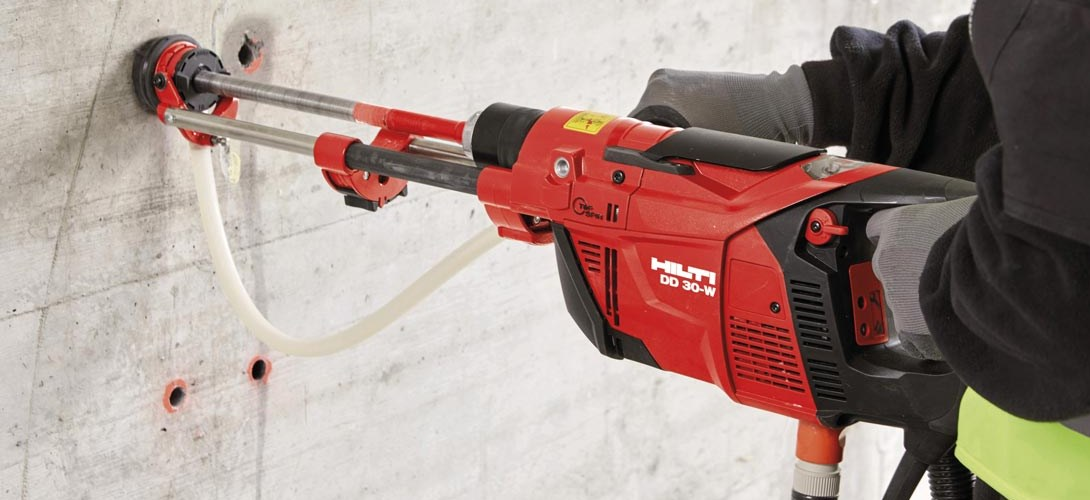 New Hilti Diamond Coring Tool Brings Speed And Safety