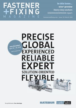 Issue 110 | Fastener + Fixing Magazine