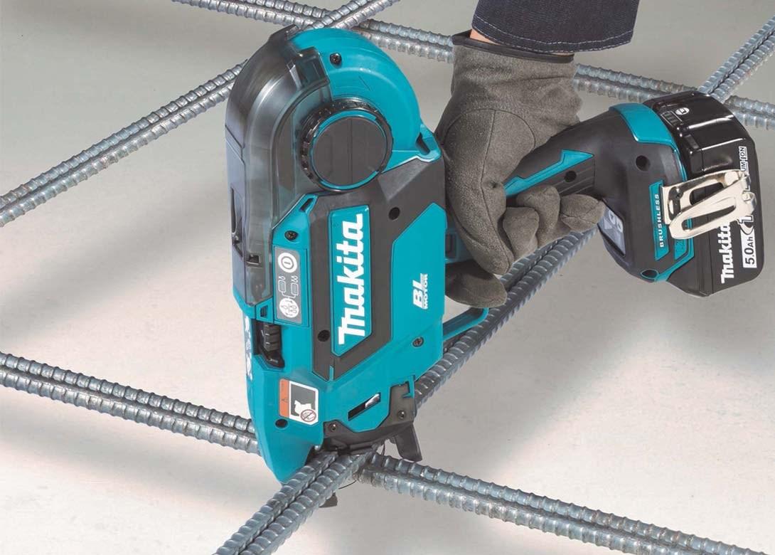Makita's first cordless rebar tying tool | Fastener + Fixing